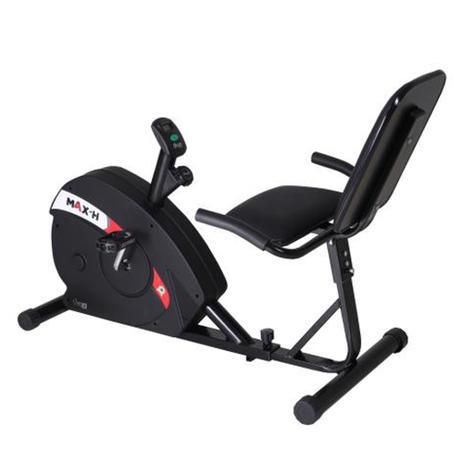 Imagem de Bicicleta ergométrica horizontal max H Dream Fitness