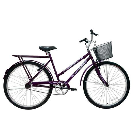 Imagem de Bicicleta Feminina Aro 26 Genova Cairu - 310754