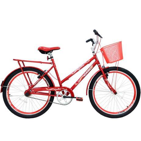 Imagem de Bicicleta Feminina Cairu Aro 26 com Cesta Personal Genova