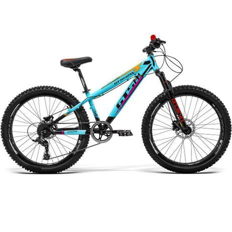 Imagem de Bicicleta GTS Aro 26 Freio a Disco Hidráulico Câmbio GTS TSI 7 Marchas e Amortecedor  GTS M1 420x FreeRide