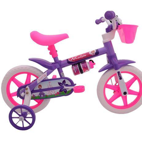 3f1ae4138 Bicicleta Infantil Aro 12 Feminina Cairu - Bicicleta de Passeio ...