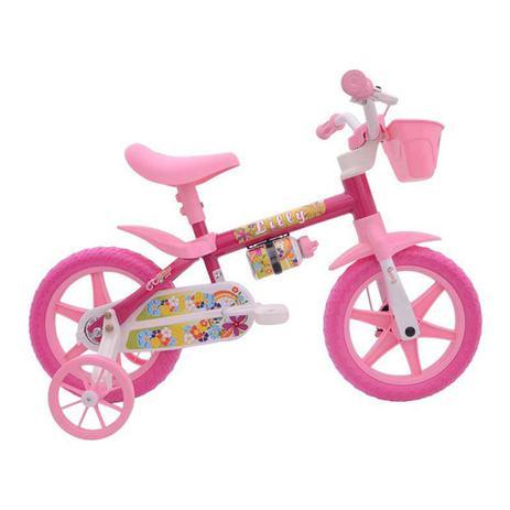 Imagem de Bicicleta Infantil Aro 12 Flower Nathor