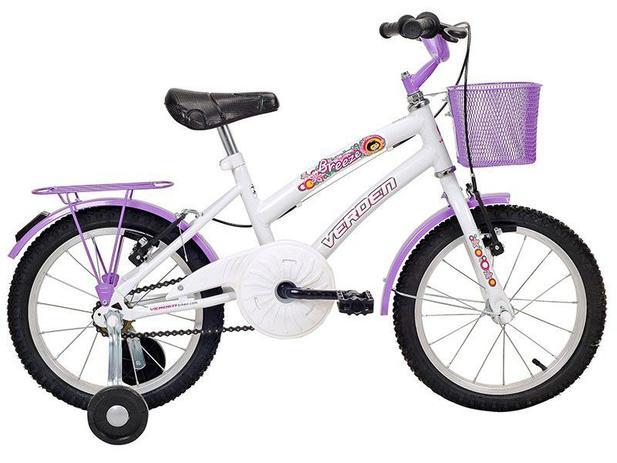 Imagem de Bicicleta Infantil Aro 16 Verden Breeze Branco e
