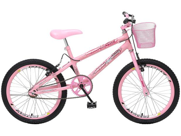 Imagem de Bicicleta Infantil Aro 20 Colli Bike July Rosa