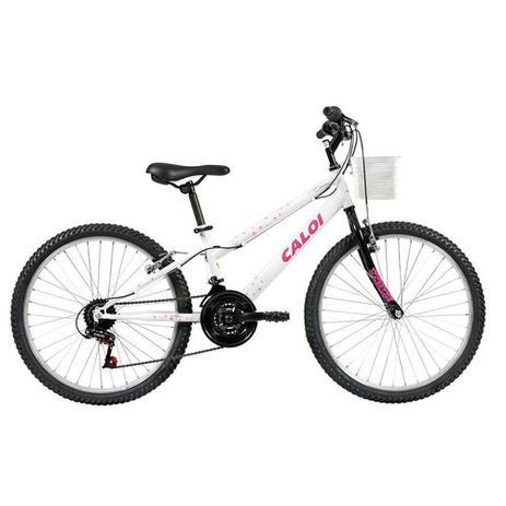 Imagem de Bicicleta Infantil Aro 24 21 Marchas Caloi Ceci Freio V-Brake