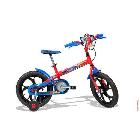 Imagem de Bicicleta Infantil Caloi Spider Man Aro 16 - Vermelho