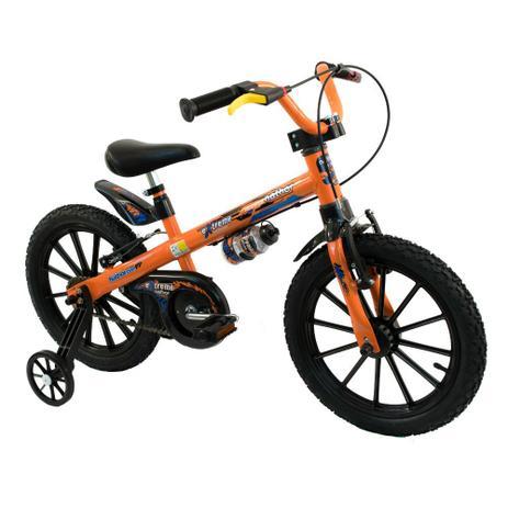 Imagem de Bicicleta Infantil Nathor Aro 16 Menino Extreme De 5 A 8 Anos