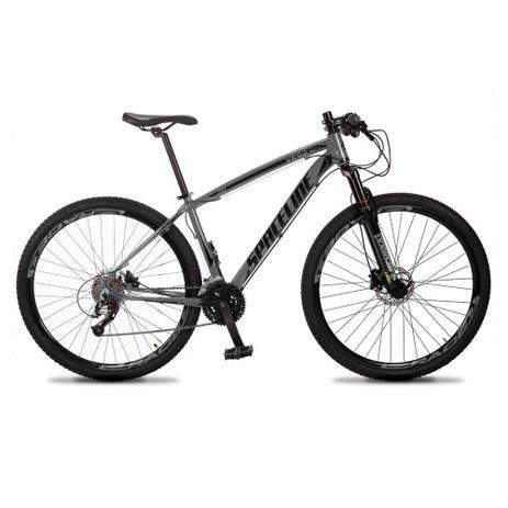 Imagem de Bicicleta MTB Aro 29 Quadro 19 Alumínio 27 Marchas Freio Hidráulico Vega Cinza - Spaceline