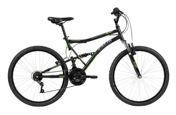 Imagem de Bicicleta MTB Caloi XRT Aro 26 - Susp Dianteira e Traseira - 21 Vel - Preto