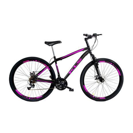 cecada38d Bicicleta Mtb Kls Sport Gold Aro 29 Suspensão Câmbio Shimano Freio Disco 21  Marchas