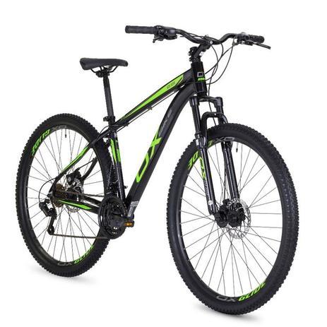 Menor preço em Bicicleta mtb oggi hard glide aro 29 freio a disco 2018 - preto e verde