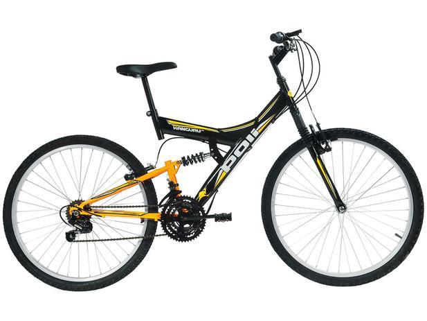 Imagem de Bicicleta Polimet Kanguru Aro 24 18 Marchas
