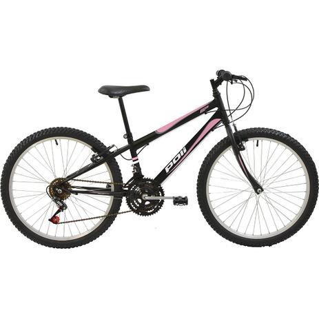 8ba2dd051 Bicicleta Polimet Mtb Aro 24 V-brake 18v - Poli sports - Bicicleta ...