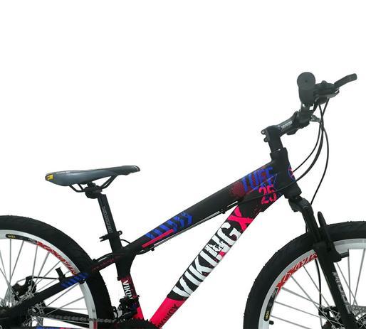 cfbf009c38 Bicicleta Vikingx Tuff 25 Freeride Aro 26 Freio Á Disco 24V ...