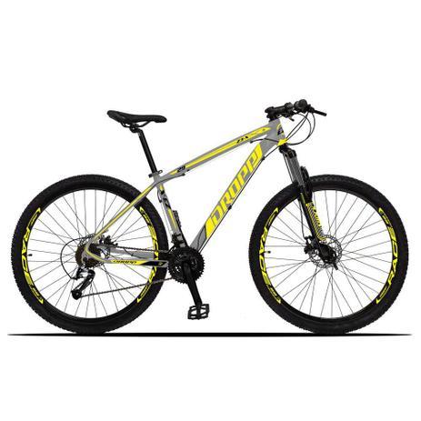 Imagem de Bicicleta Z3-X Quadro 15 Aro 29 Alumínio 27 Marchas Freio Disco Hidráulico Cinza Amarelo - Dropp