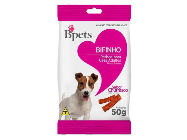 Imagem de Bifinho para Cachorro Adulto Bpets Churrasco 50g