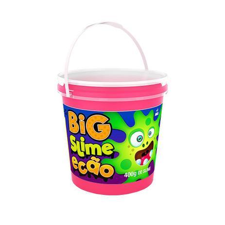 Imagem de Big Slime Ecão 400g - Rosa Neon - DTC