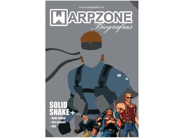 Imagem de Biografias Nº 7 Solid Snake