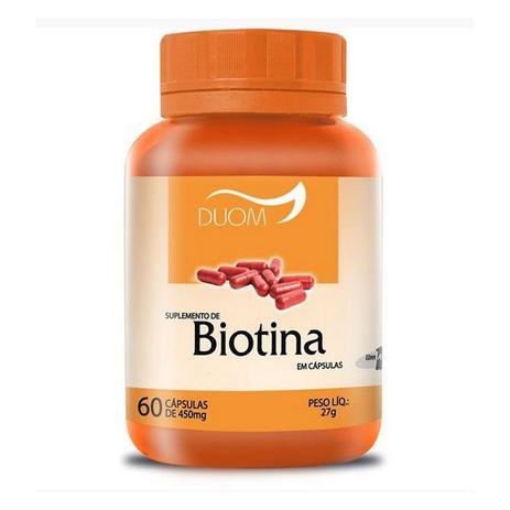 Imagem de Biotina 60cps 450mg