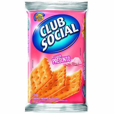 biscoito club social presunto 23 5g c 6 nabisco biscoito
