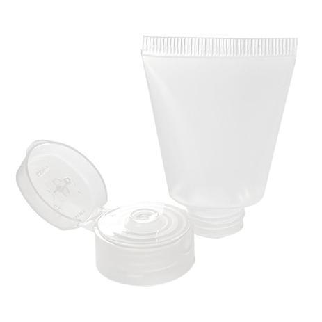 Imagem de Bisnaga para Lembrancinha Hidratante e Álcool gel 40 ml 20 unid