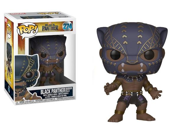 3e4effacf94 Black Panther Warrior Falls - Funko Pop! - Marvel - 274 - Pantera Negra