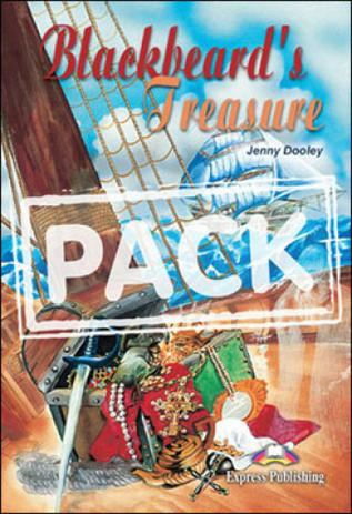 Blackbeards treasure - reader with audio cd - elt graded readers - Express  publishing - readers