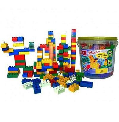 Imagem de Bloco de montar balde block mania 104 pçs ref:6000