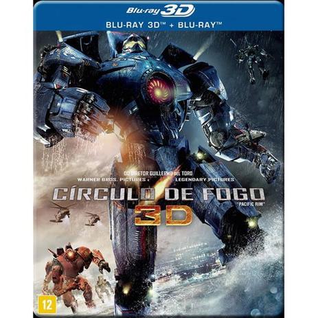 Blu Ray 3d Blu Ray 2d Circulo De Fogo Warner Bros Filmes