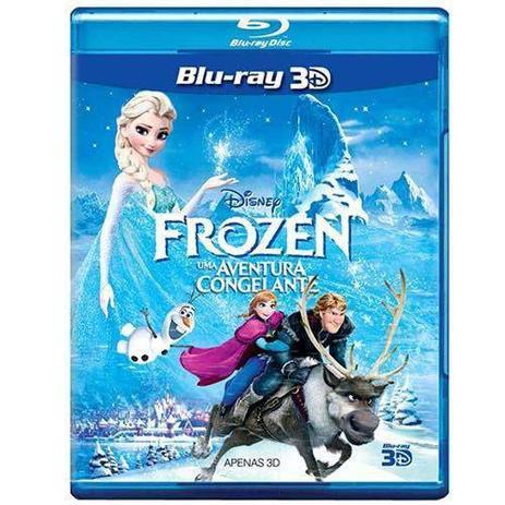 Imagem de Blu-Ray 3d - Frozen - Uma Aventura Congelante