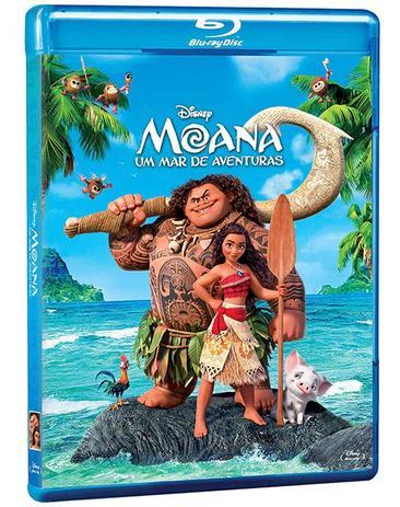 Imagem de Blu-Ray - Moana: Um Mar de Aventuras