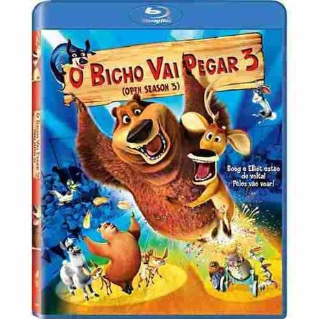 Blu Ray O Bicho Vai Pegar 3 Warner Bros Filmes De Animacao