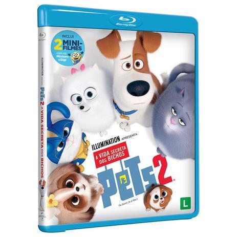 Blu Ray Pets A Vida Secreta Dos Bichos 2 Universal Studios