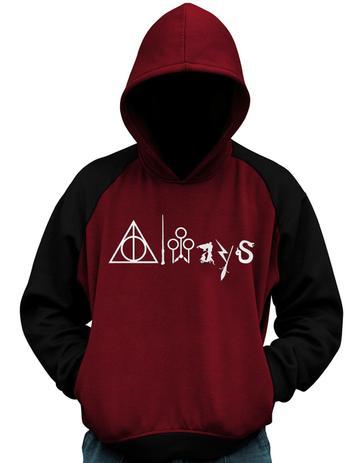 Imagem de Blusa De Moletom Always Harry Potter Hogwarts Casaco