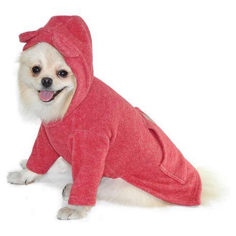 e6fec7498 Blusão com Capuz Bichinho Chic Vermelho - Roupas para cachorro ...