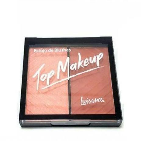 Imagem de Blush Luisance  Top Makeup - Estojo de Blushes -  Cor B ref L1038 15,7g