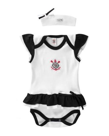 Body Corinthians Com Vestido e Tiara Oficial - Revedor - Vestido ... eb35753886bf2