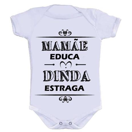 bee2aee0ff48 Body Divertido - Mamãe Educa Dinda Estraga - Kalundu kids ...