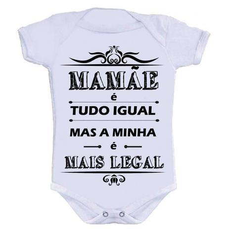 38ec01abdfc8 Body Divertido - Mamãe Tudo Igual M - Kalundu kids - Roupas Infantis ...