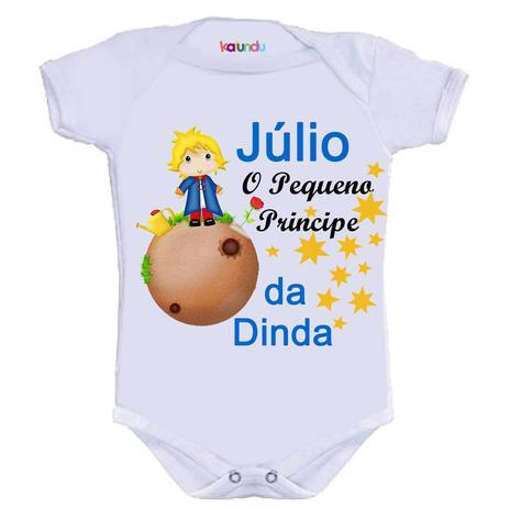 07c9d4827b Body Divertido - Pequeno Príncipe da Dinda - Kalundu kids - Roupas ...