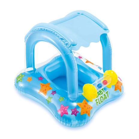 827070497b685 Boia Inflável Baby Bote Kiddie Com Cobertura Piscina - Intex ...