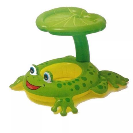 6cb139adeaeff Boia Inflável Baby Bote Sapinho Com Cobertura - Intex - Brinquedos ...