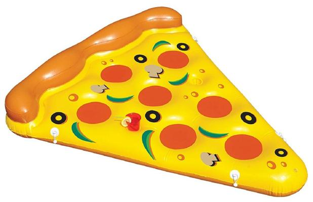 Imagem de Boia Inflável Fatia de Pizza - 130 cm