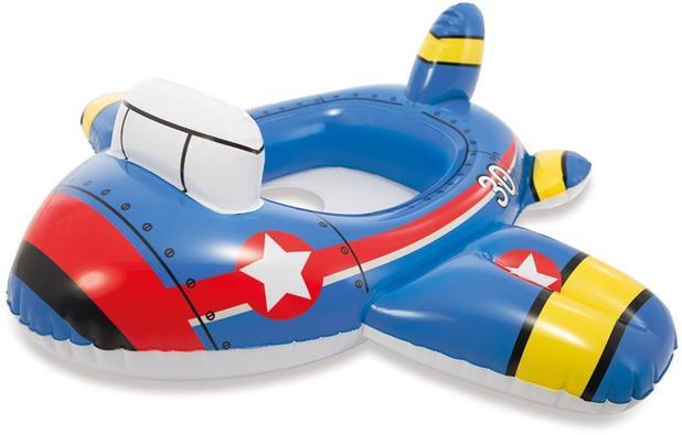 1ae315e678101 Boia para Bebê Infantil Baby Bote Kiddie Aviãozinho - Intex ...