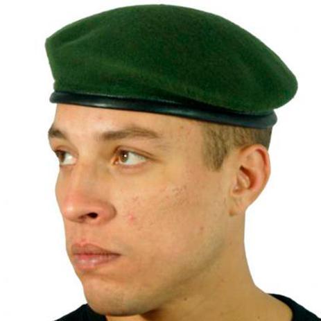 5dda596e9425a Boina Militar Francesa Verde Oliva tamanho 59 - Mundo do militar ...