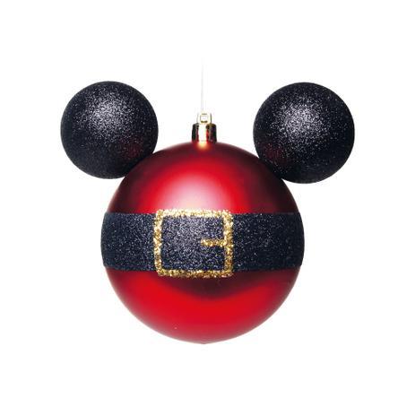a526ea5a4d Bola Árvore Natal Disney 6Cm C  6 Pçs Vermelha - Cromus - Bola de ...