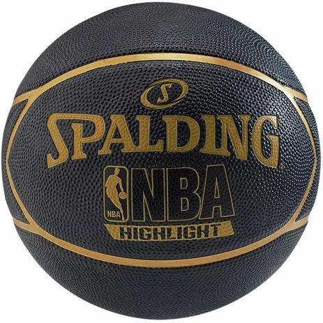 Bola Basquete Spalding Highlight Gold - Basquete - Magazine Luiza 26a801cda0906