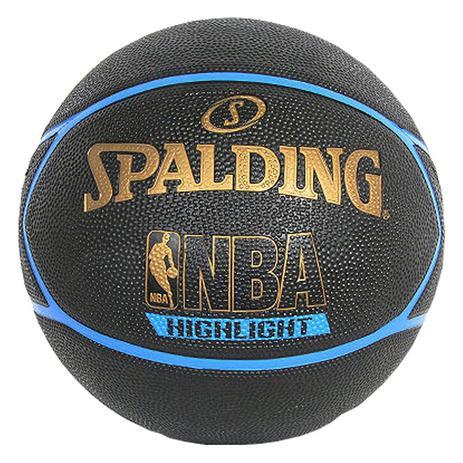 Bola de Basquete Highlight - Spalding - Bola de Basquete - Magazine ... a65a994451ab8