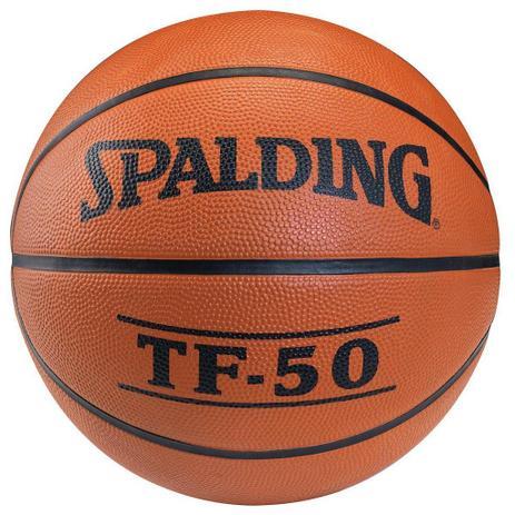 Bola de Basquete Spalding TF-50 - Basquete - Magazine Luiza d9843ae2fb919