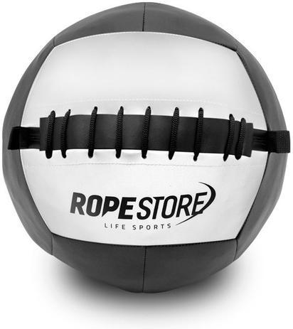 d78e2d9007dd0 Bola de Couro Wall Ball 18 Libras Preto x Branco - Rope - Bolas para ...